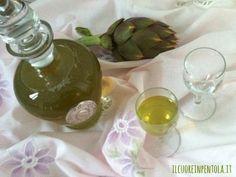 Liquore al carciofo http://www.ilcuoreinpentola.it/ricette/liquore-al-carciofo/
