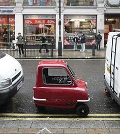 Itty Bitty Red Car    Repinned by www.eddiemercer.com in Pensacola, FL