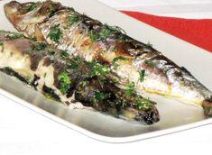 Scrumbie la cuptor in folie de aluminiu Cheesesteak, Fish Recipes, Ethnic Recipes, Food, Essen, Meals, Yemek, Eten