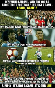 This is so True. Football Jokes, Football Is Life, Football Soccer, Soccer Sports, Nike Soccer, Soccer Cleats, Soccer Player Quotes, Soccer Players, Funny Soccer Memes