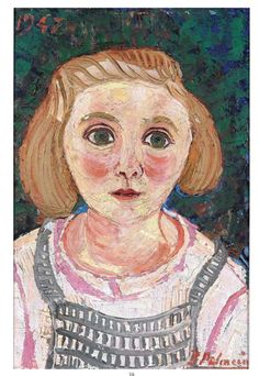 Benjamin Palencia Retrato de niña