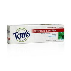 Brought to you by Avarsha.com: <div><div>Tom's of Maine Propolis and Myrrh Natural Toothpaste Peppermint -- 5.5 oz</div><div>Tom's of Maine</div></div>