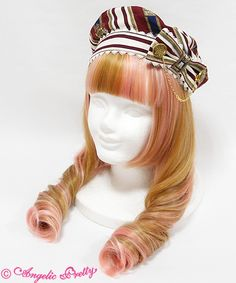 Angelic Pretty Chess Emblem Beret