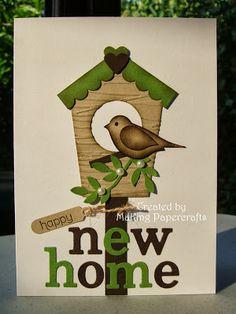 Cute new home card
