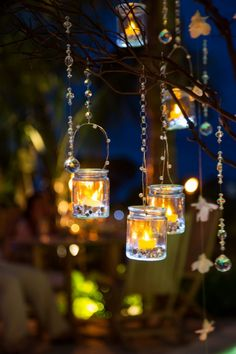 Lanterns | Tropical Turks and Caicos Island Wedding | Attimi Photography