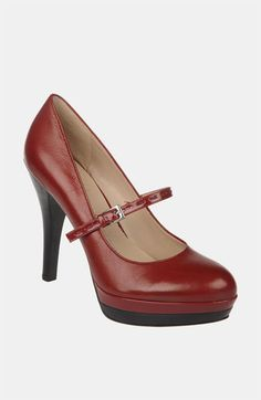 Red shoes #idie. Franco Sarto 'Tilly' Mary Jane Pump | Nordstrom