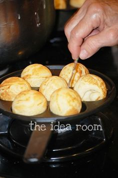 Aebleskivers - loved these at grandmas house after a sleep over