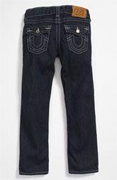 True Religion Brand Jeans 'Jack' Straight Leg Jeans (Little Boys)