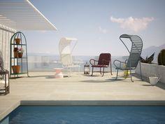 Jaime Hayon: Gardenias Outdoor Furniture For BD Barcelona