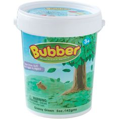 Bubber Modeling Material, Green, 5 oz., Bubber sticks together, is easy to shape and won't dry out. http://www.thegreenapple.us/bubber-modeling-material-green-p-1500245.html?osCsid=lprm42edp7gf2fvjqu6jqvmq21#.UdK9_jtHJxA