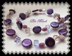 Lila Black: Beaded Bead