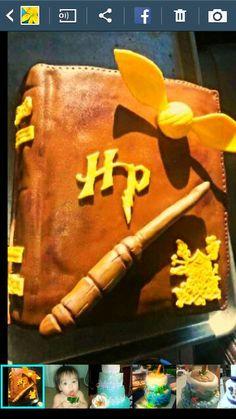 Harry Potter grooms cake