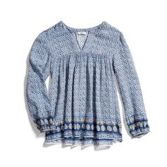 Stitch Fix New Arrivals: Boho Printed Top