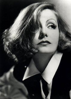 Actrices como Greta Garbo son iconos de referentes de moda.