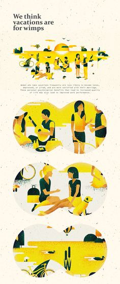 Picnic illustrations.