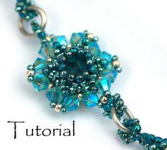 Beading Pattern 2 in 1 tutorial earring pendant di PrettyNett