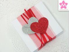 Caixa Valentine's Day 10x10x3cm