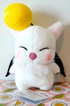 Stuffed Moogle (Mog) Final Fantasy IX - I own this, can confirm its adorable