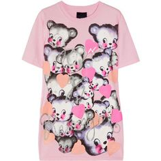 Meadham Kirchhoff Love Is Revenge printed cotton-jersey T-shirt