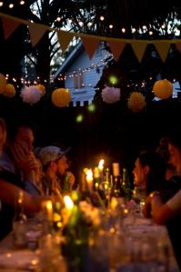 Summer dinner party -