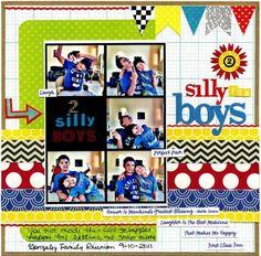 2 silly fun boys - Scrapbook.com