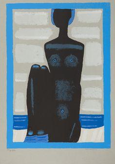 123 Murzynka na plaży, 1999 r.