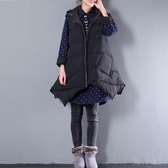 Irregular Loose Hooded Jacket