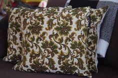 Brown/Green/Gold+floral+roses+tapestry+brocade+by+TroshandTreasure,+$60.00
