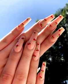 - n a i l a r t s - #unghie #unghiegel #unghiegels #nagel #nail #naildesign #dipped nails Cute Acrylic Nail Designs, Simple Acrylic Nails, Best Acrylic Nails, Teen Nail Designs, Coffin Nail Designs, Painted Acrylic Nails, Acrylic Nail Designs Coffin, Coffin Nails Designs Summer, Bling Nails
