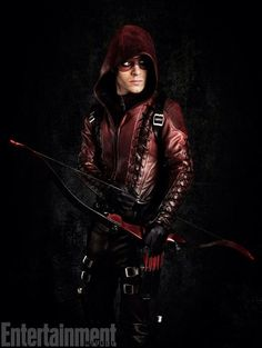 First Look At Colton Haynes Fully Suited Up As 'Arsenal' In Season Three Of ARROW
