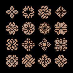 Здесь вы найдете тысячи векторных изображений класса премиум в форматах AI и EPS Logo Design Inspiration, Icon Design, Set Design, Hipster Vintage, Textile Pattern Design, Luxury Logo, Mixed Media Canvas, Abstract Flowers, Painting Patterns