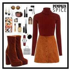 """""""Fall Outfit ✨🍂"""" by hollycallway ❤ liked on Polyvore featuring Miu Miu, A.L.C., Michael Kors, Casetify, Dolce&Gabbana, Guerlain, Burberry, Deborah Lippmann, Givenchy and Hermès"""