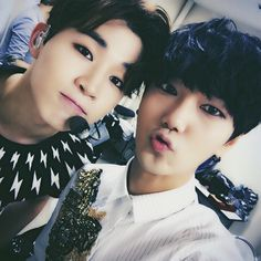 Henry and Yesung - Super Junior