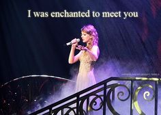Taylor Swift Luv this song sounds like a fantasy and takes u 2 a different place