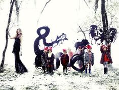 Fine Fettle: Fashion Photography: Fairy Tale Shoot the travelling circus gothic style side show freaks fashion