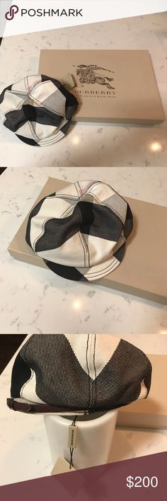 Burberry hat 100% authentic brand new never worn Burberry hat. With tag. 4500020701 size small Burberry Accessories Hats