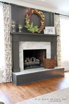 Luxury Pictures Of Decorated Fireplaces