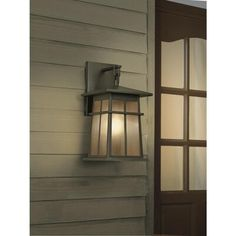 Portfolio Amberset H Specialty Bronze Medium Base Outdoor Wall Light at Lowe's. Portfolio Amberset H specialty bronze outdoor wall light is a damp rated steel fixture complemented by beautiful textured ivory glass. Entry Lighting, Outdoor Wall Lighting, Outdoor Walls, Classic Lanterns, Lantern Designs, Entrance Ways, Light Bulb Bases, Lowes Home Improvements, Glass Shades