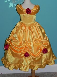 Beautful Belle inspired costume. Complete gown for by CostumeKids