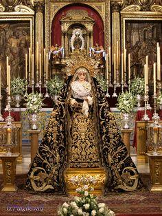 La Virgen de la Soledad. Parroquia de San lorenzo