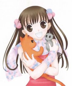 """Whenever I need a boost of """"feel good or just great advice I usually turn to the anime Fruits Basket. I know the main character seems unreal because of her unusual amount of optimism but sometimes I need that in my life when everything else around me seem to try and get me down."""