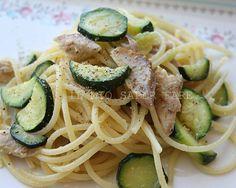 Spaghetti tonno e zucchine ricetta facile