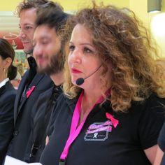 Il giudici Laura Sedioli pronto a valutare e giudicare il lavoro svolto da tutti i finalisti.