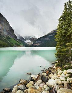Lake Louise in near Banff! Love this trip! #travel #canada