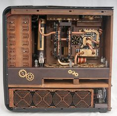 An amazingly well done Steampunk computer case. -ThinkComputers.org
