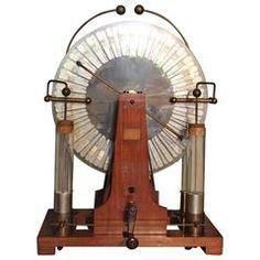 Scientific Machine Wimshurst Machine Late 19th Century