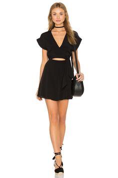 Privacy Please Tilla Dress in Black