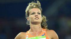 Stralende Schippers loopt naar winst in serie 100 meter - Olympische Spelen 2016   NOS Dafne Schippers, Heptathlon, Champion, Track And Field, Nars, Mirrored Sunglasses, 200m, Tv, Holland