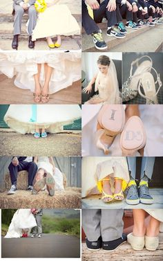 Cute wedding collage