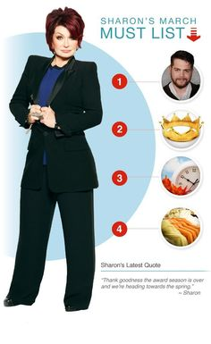 March is here! See what made Sharon Osbourne's Must List this month & share yours!